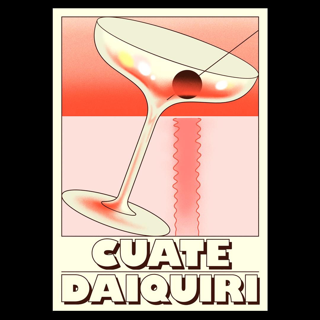 Cuate Rum Daiquiri