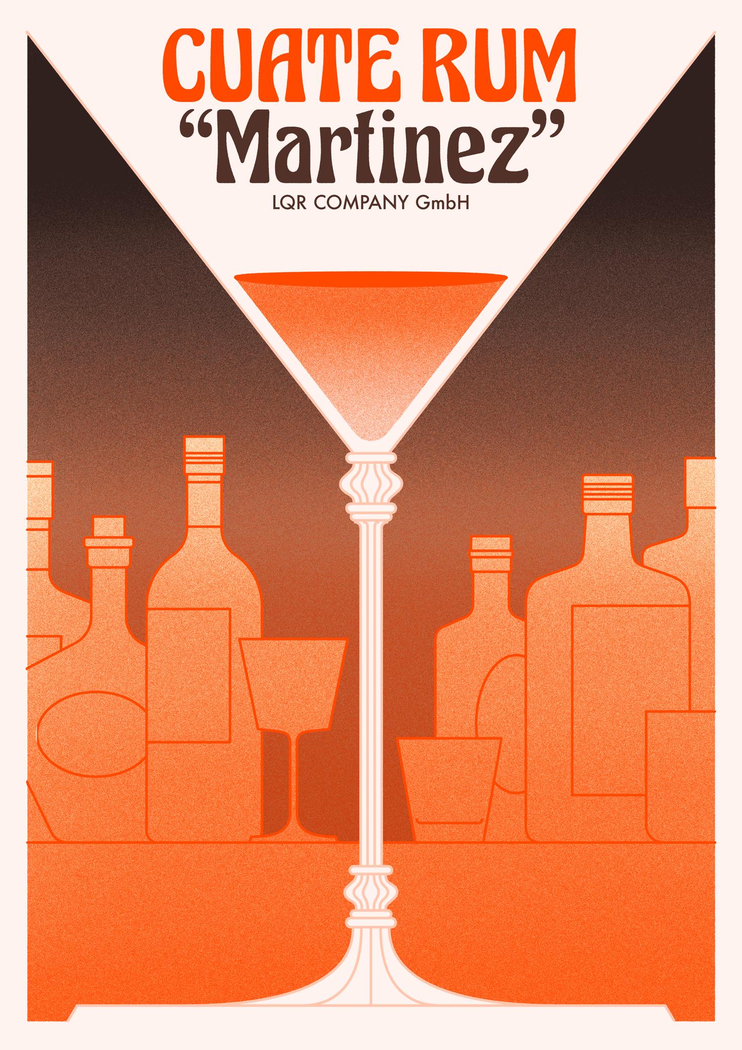 Cuate Rum Martinez