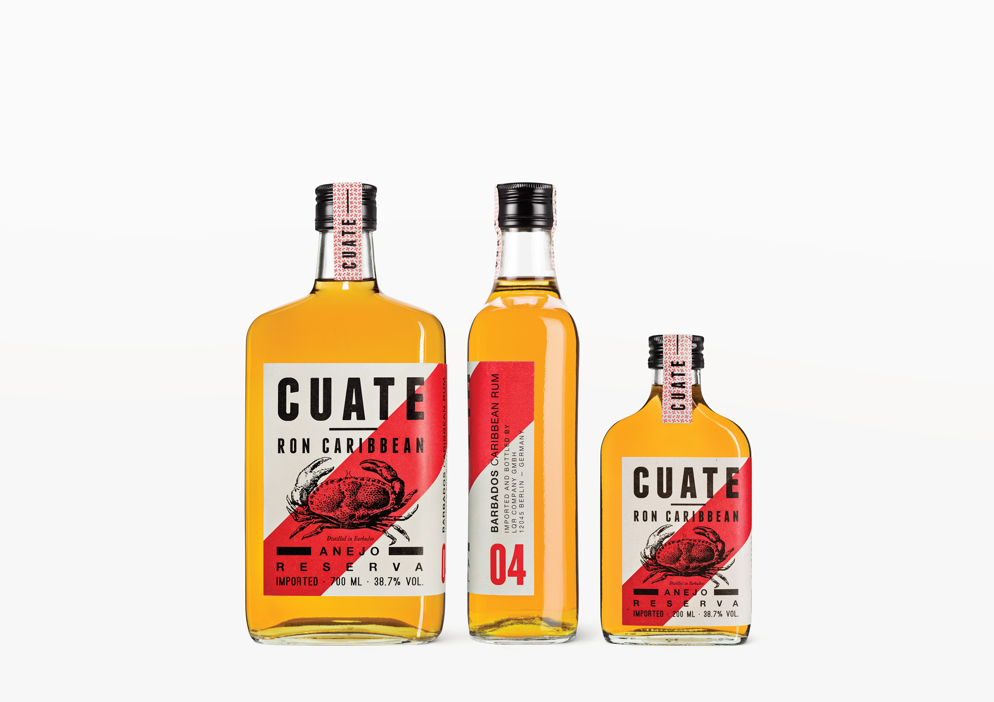 Cuate Rum 04 — Ron Caribbean