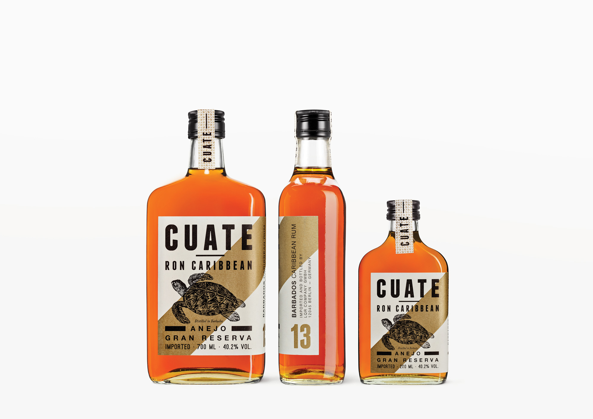 Cuate Rum 13 — Ron Caribbean